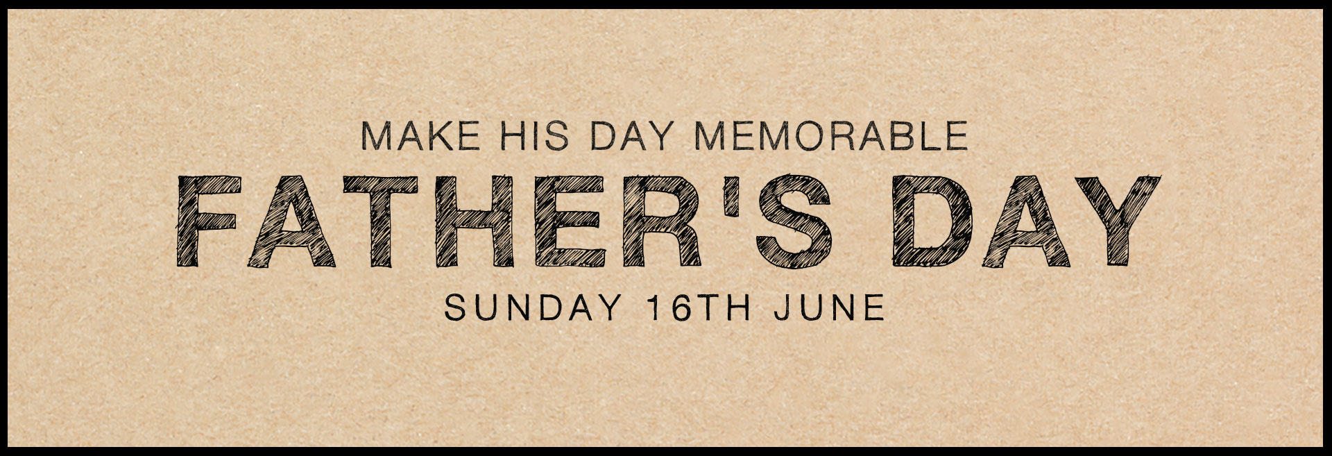 Father's Day at The Drummond