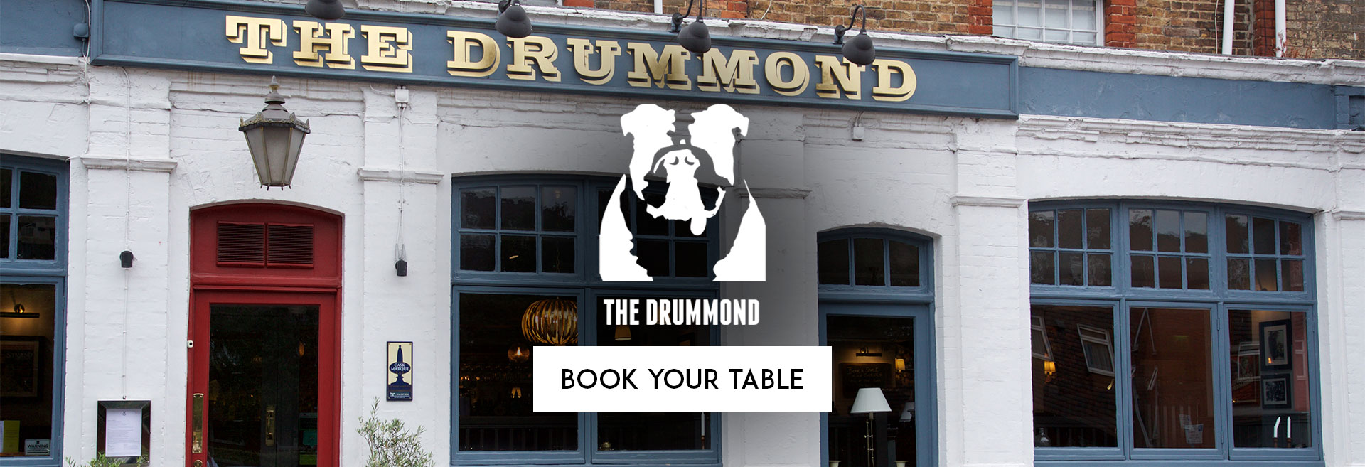 Book Your Table at The Drummond